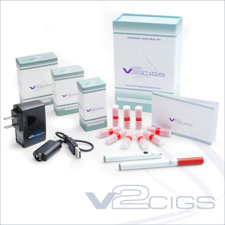 V2 Cigs... on order to help me quit my nasty habit of smoking!! So excited to try, hopeful it will work better than the patch-option.. :)