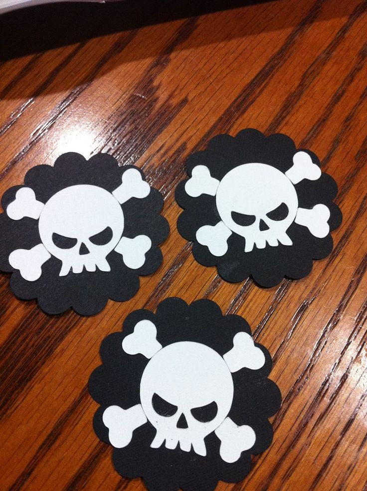 Bedroom Pirate Decorations Three Pirate Symbol On The Wooden Table Decorating Ideas On The Party Pirate Decorations for Boys Bedroom