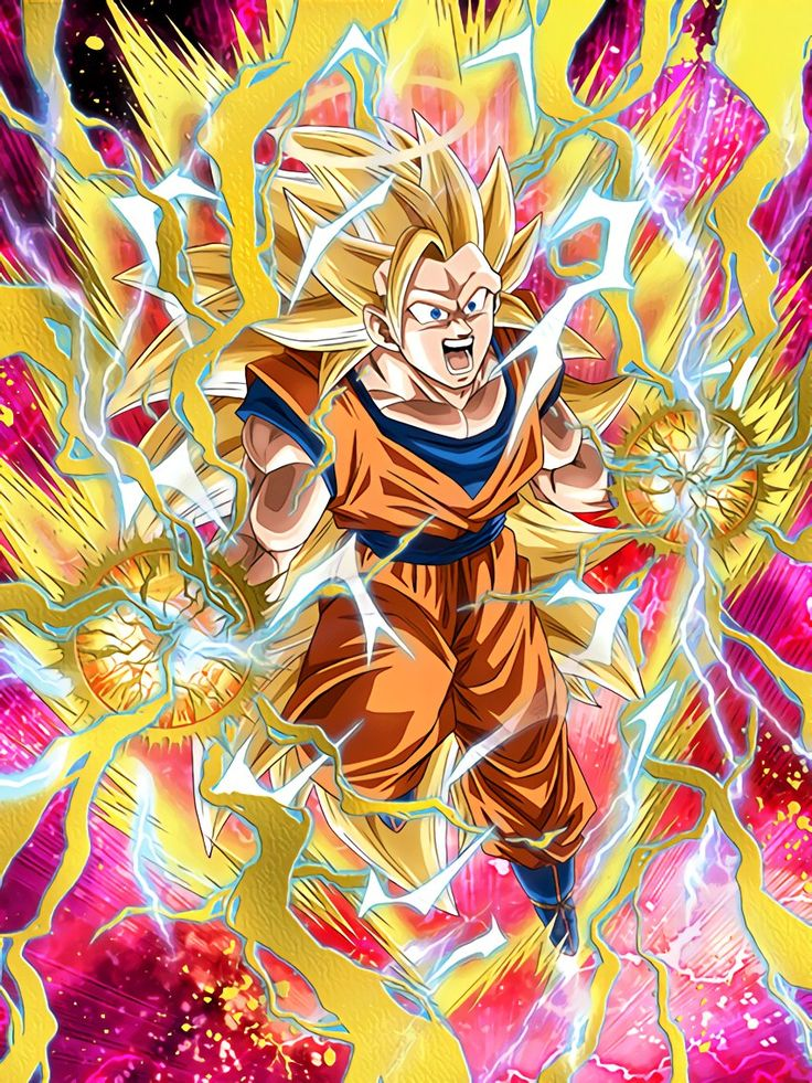 "[Burgeoning Strength] Super Saiyan 3 Goku (Angel) ""Sorry, but I can't be playing around with you forever!"""