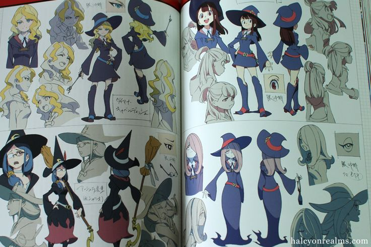 Character Design Quarterly Review : Best little witch academia リトルウィッチアカデミア images on
