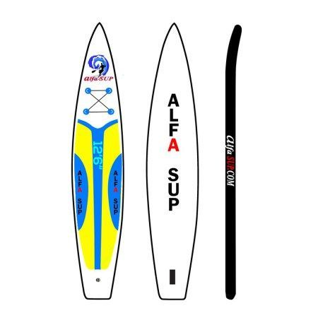 The Blur makes for a great touring/race SUP board. Its sleek light weight, shape and design is what gives this paddle board an extremely fast glide with great maneuverability.  The Blur is also a great all around SUP board making it lots of fun in the surf line up. Just like all ALFASUP inflatable paddle boards, the BLUR will last a life time, because of its heavy duty drop stitching and extra thick military grade PVC. #sup #inflatable #alfasup #pvc #military #heavyduty #surfing #racing…