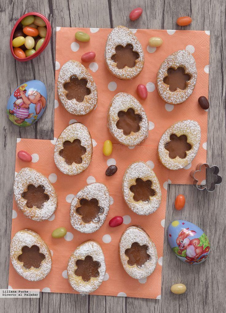 Te explicamos paso a paso, de manera sencilla, la elaboración del postre galletas huevos de Pascua con chocolate. Ingredientes, tiempo de elaboración