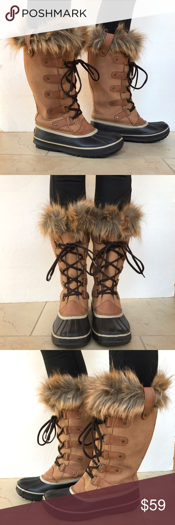 NEW Esprit winter boots with fur trim New Esprit fur trimmed winter snow boots. Rubber Upper with faux fur trim. Heavy rubber lug sole with traction for sure footing in winter weather. Soft and thick interior felt lining for all day warmth. New no box. Esprit Shoes Winter & Rain Boots