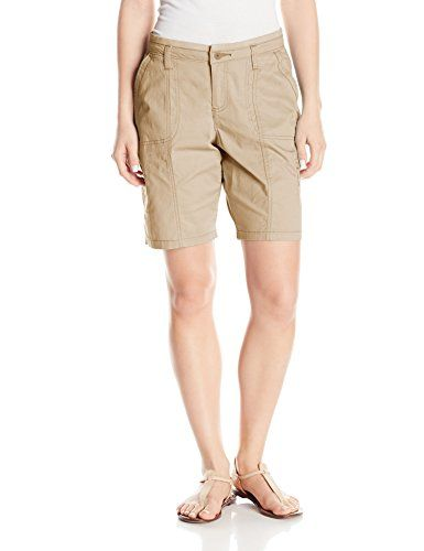 Lee Women's Relaxed Fit Delaney Knit Waist Cargo Bermuda Short, Bungalow, 16  Special Offer: $27.99  499 Reviews Just like our founder, H.D. Lee, our passion is helping can-do people do more. We are committed to designing clothing that conforms to your body, allowing you to move...