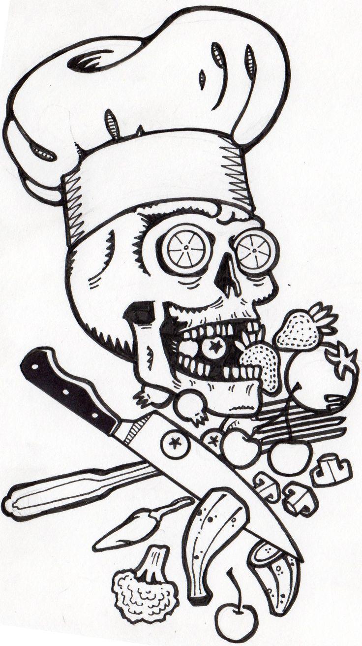 best 25 culinary tattoos ideas on pinterest chef tattoo