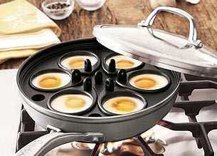 We had one of these when I was a kid. My mom really loves a tidy eggs benedict.