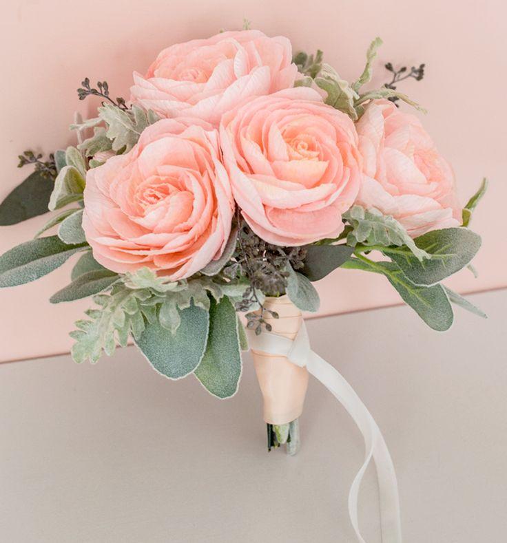 Appetite Paper: DIY - Paper Garden Roses - Soft Sherbert Bouquet