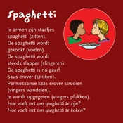 massagekaart Spaghetti workshop kinder yoga
