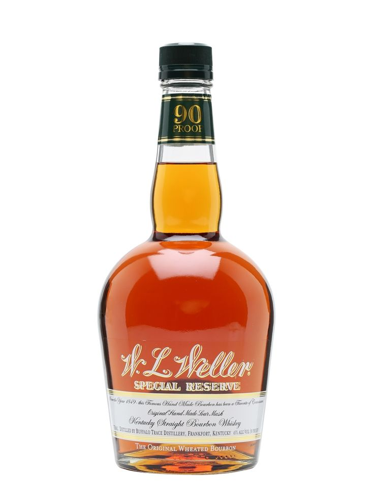 The nose on this wheated bourbon is strong with cinnamon, hard candy, oak, and vanilla. Sweet toffee, brown sugar, and caramel notes burst through onto the palate. The finish is short with hints of a spicy heat. All time favorite budget bourbon, and it's the wife's favorite everyday whiskey too. Also makes a decent Summer time Old Fashion. A glorious find for $16.00 to $22.00 USD.