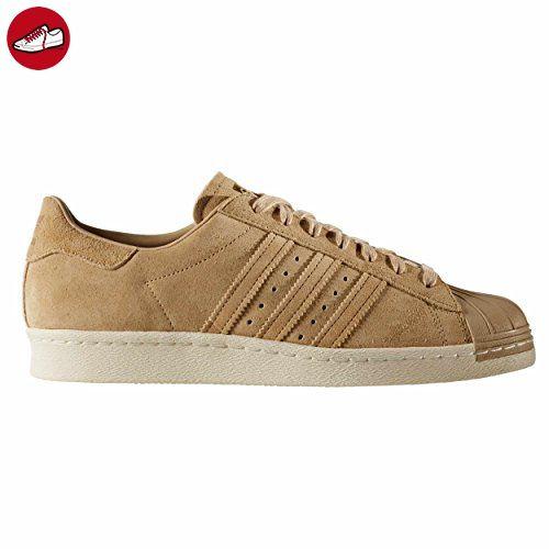 Adidas Superstar 80s Schuhe BB2227 khaki/gold Sneakers herren Leder 44 EU - 9.5UK - Adidas schuhe (*Partner-Link)