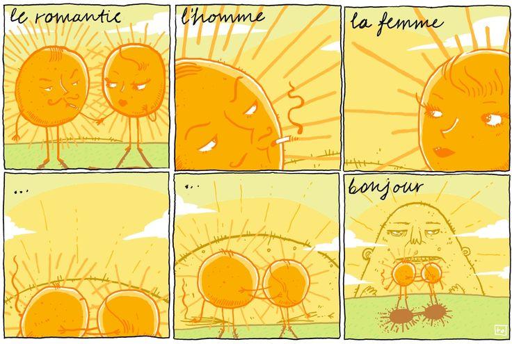 #tautologies #tautologos #sun #romantic #dusk #homme #femme