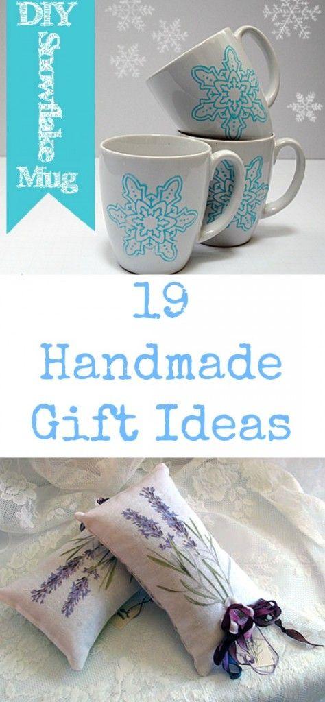 19 Handmade Gift Ideas - The Graphics Fairy