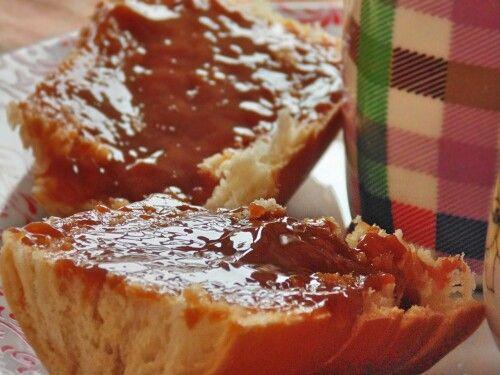 Desayuno. Dulce de leche Argentino. Fotografia de uno los placeres de la vida ✌