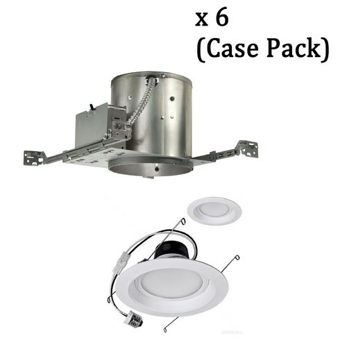 Dimmable 12 Watt Led 6 Inch Recessed Lighting Kit Case