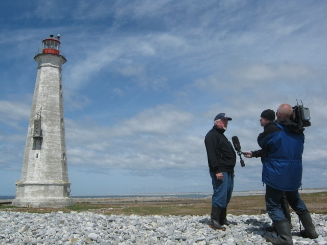 On May 1, 2013, a CBC news crew from Halifax interviewed the Mayor of Clark's Harbour about why the Cape Sable Lighthouse is in dire need of restoration funds. http://www.gofundme.com/24kmf8