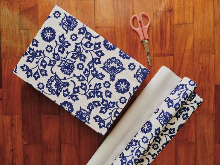 Spruce Up Old Boxes with Wrapping Paper