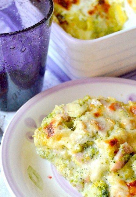 Dolci a go go: Lasagne di broccoli, prosciutto e besciamella