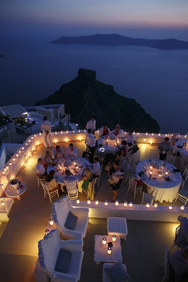 Wedding reception at La Maltese- Tie the knot in Santorini