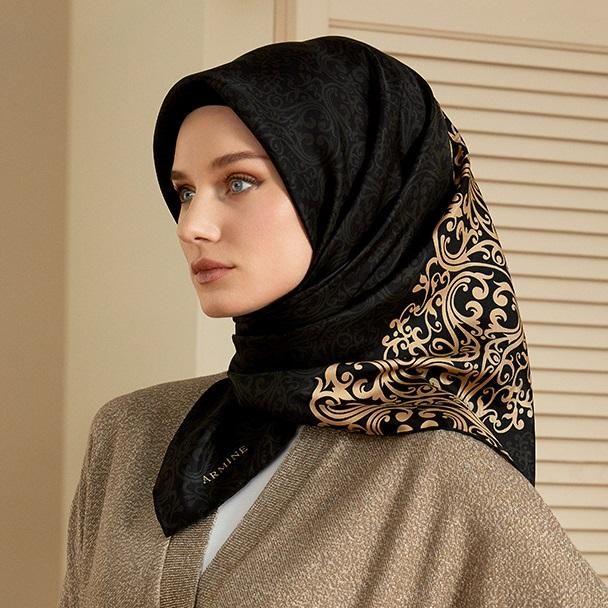 Armine Anya Stunning Silk Hijab at www.hijabplanet.com - free shipping worldwide  #scarf #luxuryaccessories #moda #fashionlovers #scarflovers #fashiondesigners #enjoystyle #fashionhijab #shopping #shawl