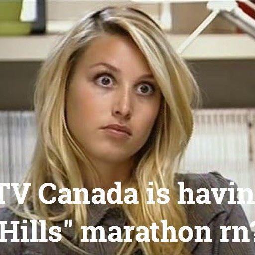 "The rumors (rumours?) are true! @mtvcanada is showing a ""Hills"" marathon today! #mtvcanada #mtv #canada #canada🇨🇦 #thehills #thehillsmtv #marathon #thehillsmarathon  #wordsunspoken #thehillspodcast #wordsunspokenpodcast  #realityshow  #nostalgiatv #vintagerealitytv #laurenconrad  #heidimontag #audrinapatridge #whitneyport  #tenyearanniversary #podcast #podcasts #tv #popculture  #newpodcast #newpodcastalert"