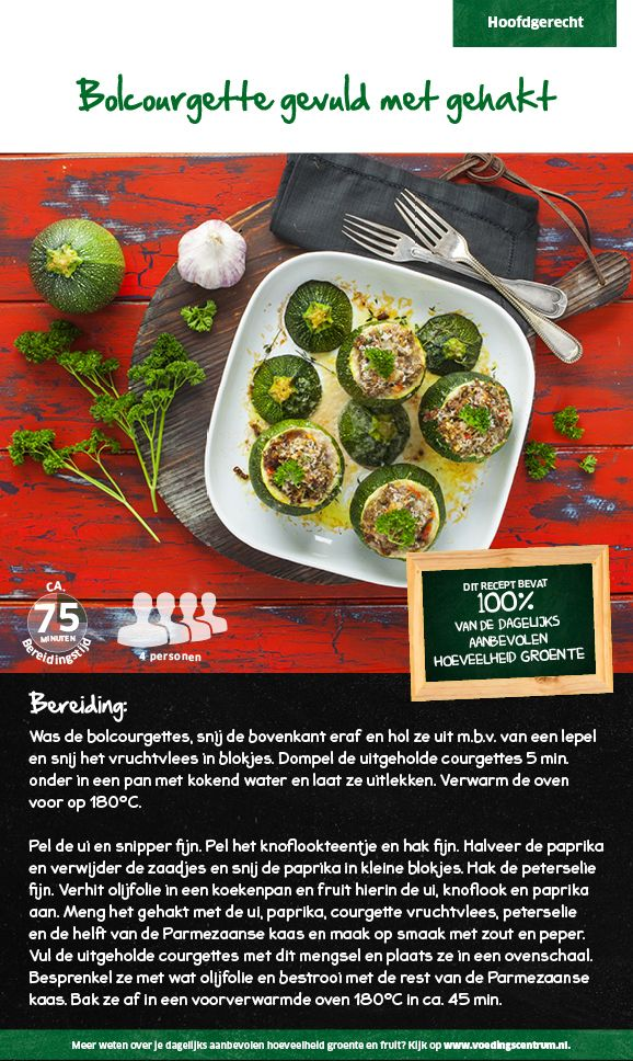 Bolcourgette - Lidl Nederland
