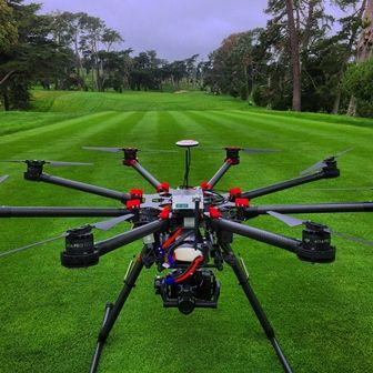 Fox Sports to Use UAVs to Cover U.S. Open | Helivideo drones will use IMT microLite transmitters, Blackmagic, Panasonic cameras