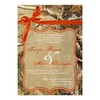 Camo Wedding Invitations For Hunters At Discount Sale Prices. OFF When You  Order Invites.