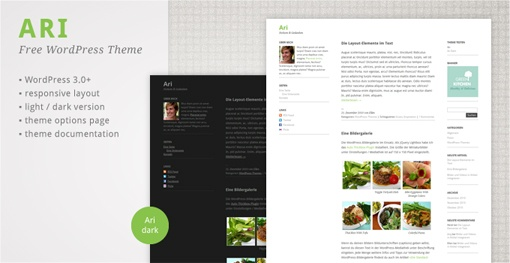 #responsive #wordpress #theme Ari WordPress Theme