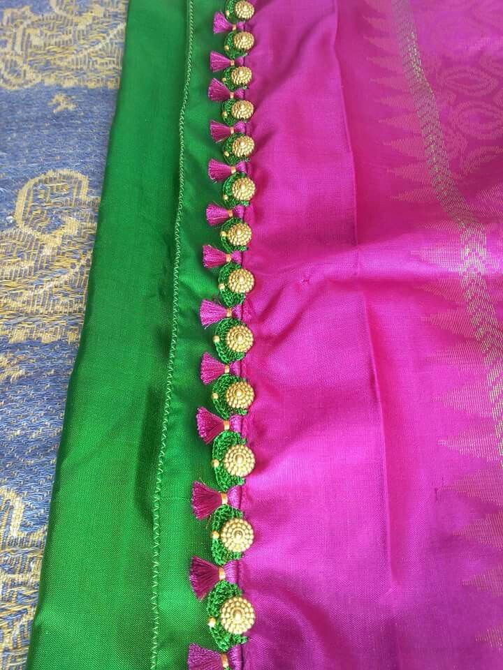 246 best images about Saree tassels on Pinterest Lace ...