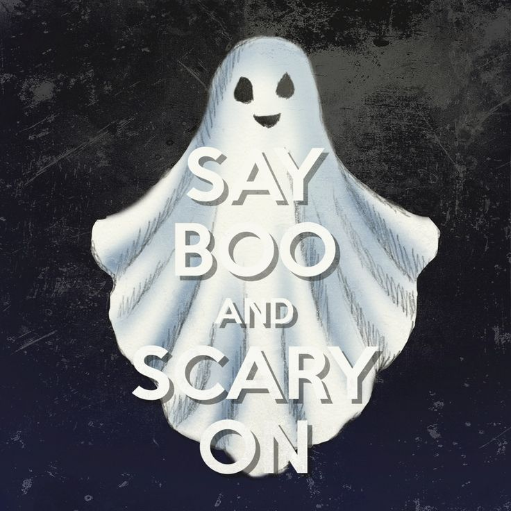 Keep Calm: Say BOO! And Scary On