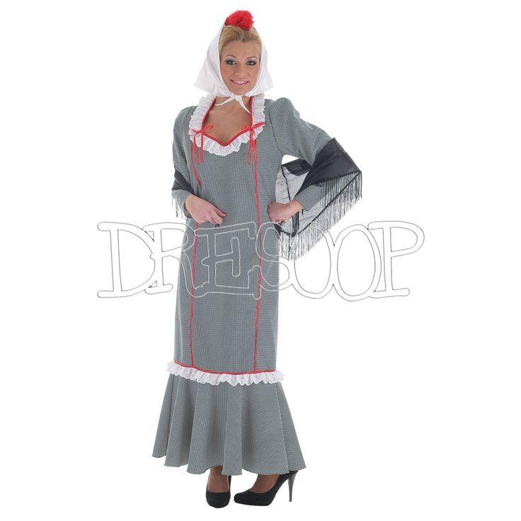 Disfraz Chulapa Pata Gallo para mujer - Dresoop.es