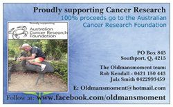 Check out what we are doing to END CANCER at www.facebook.com/oldmansmoment
