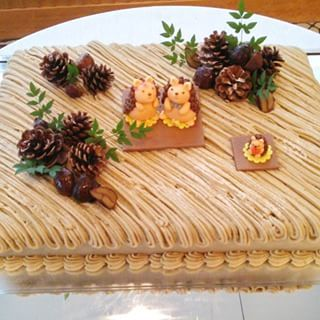 ウエディングケーキ モンブラン