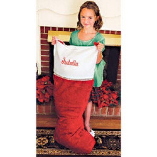 Giant Christmas Stockings Birthday And Pinterest Large