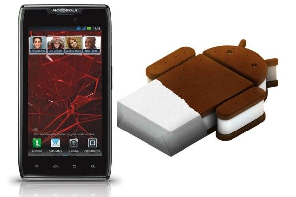 Motorola liberó la actualización oficial a Android Ice Cream Sandwich para el Motorola RAZR y el RAZR MAXX de Telcel en México, por lo que quienes tengan uno de estos smartphones ya podrán decirle adios a Gingerbread.