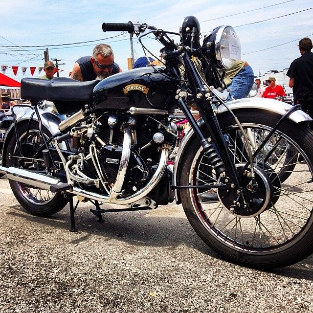The Holy Grail. 52 Vincent Black Shadow