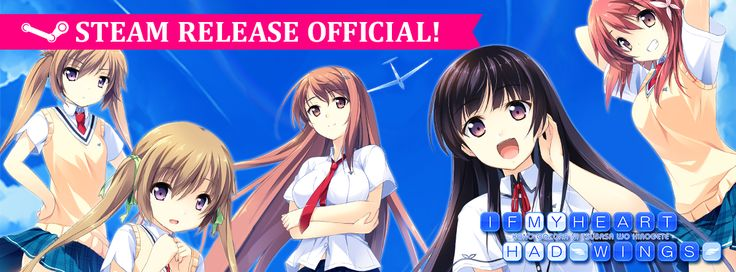 What do you know? The Steam holiday sale is now on, and If My Heart On Wings is now available at a whopping 25% discount!  Ending on January 2nd, this lovely visual novel is available for US$11.24! With Steam trading cards and achievements available, head on over now to view the game!  http://store.steampowered.com/app/326480/  ~Happy holidays everyone!!~