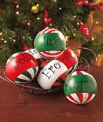 Christmas Decor Balls (Brand New)