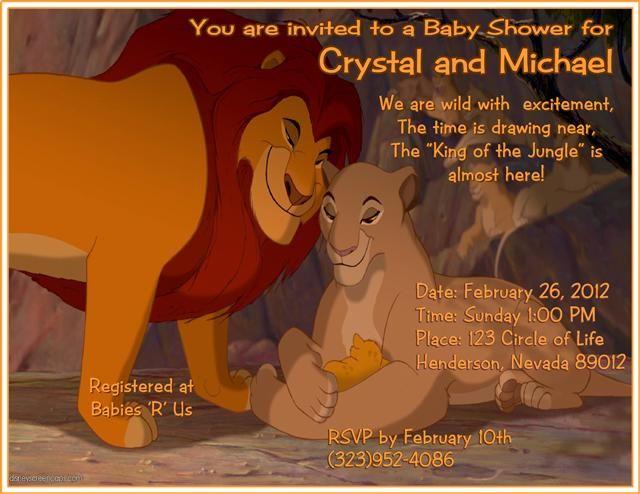 Baby Shower Lion King Clip Art 15 Simba Cakepins Com