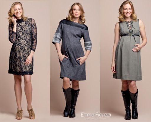 Vestidos para Grávidas 2012