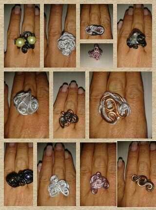 Wire ringen