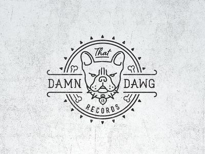 That Damn Dawg Logo Mathias Temmen