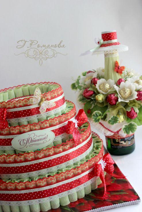 (18) Gallery.ru / Фото #44 - Торты и тортики из конфет) - Galina2405