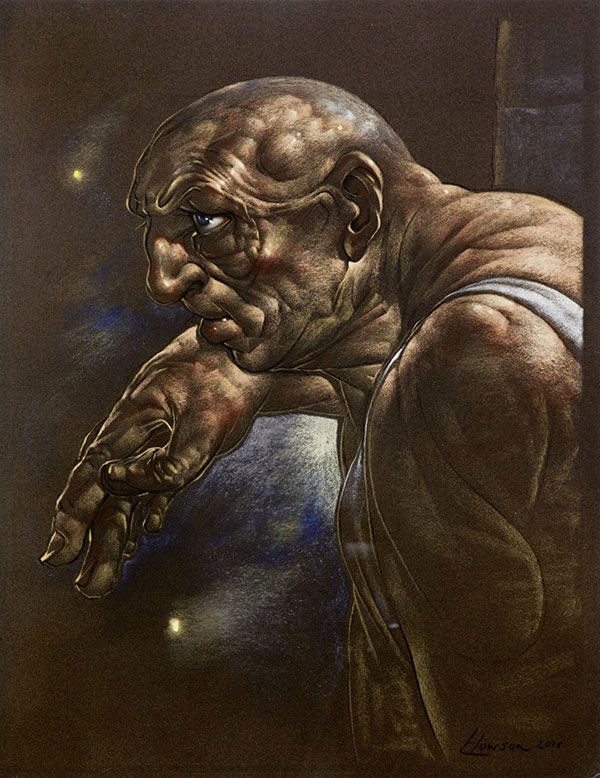 Peter Howson - Pendere III, Oil (2015)