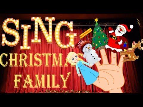 Full Movie Christmas Finger Family SONG * Monkeys Elsa Frozen and Santa Claus Animation - YouTube