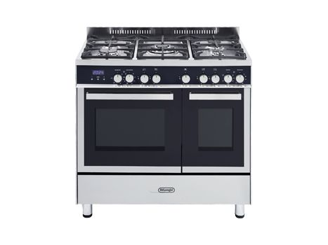 Freestanding Double Oven with Gas Cooktop - 90cm DEF9085DGW