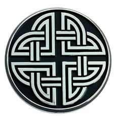 Quaternary Celtic Knot - The task of tracking down the exact meaning of Celtic symbols is difficult due to the lack of concrete proofs or writings. In many cases, one has to rely on the artist's interpretation of a particular symbol. The quaternary knot symbol could thus, depict or indicate four directions (East, West, North and South). The symbol could also mean four elements of nature i.e. Earth, Fire, Water and Air.