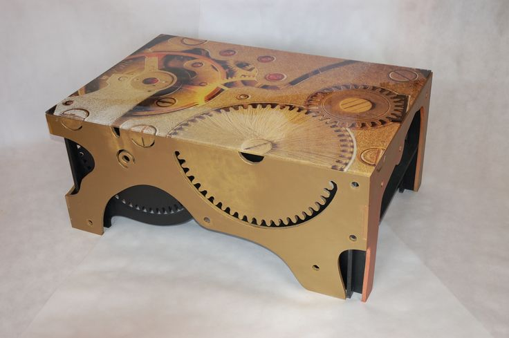 I'm punk, maybe steampunk. I was born in FICASSO Furniture from imagination. More on...ficasso.eu