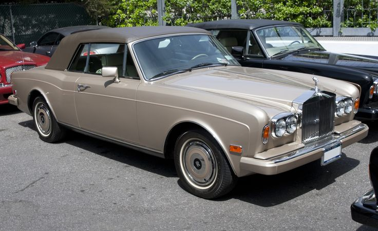 Rolls-Royce Corniche - Wikipedia, the free encyclopedia