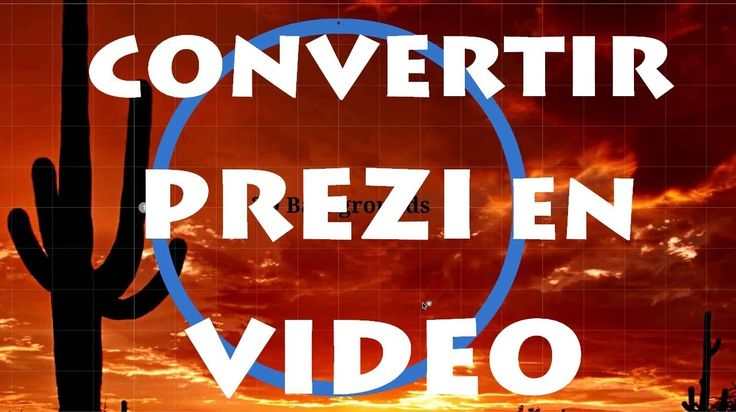 Convertir una Presentación Prezi en Video : Tutorial Prezi